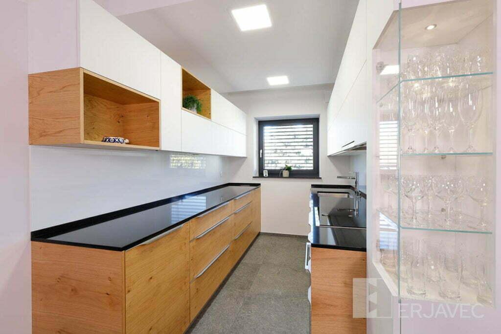 Die zweizeilige Küche